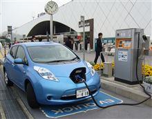 電気自動車EVの急速充電設備