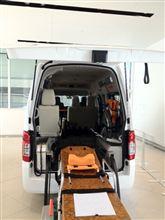 大阪でNV350キャラバン・チェアキャブとセレナ・チェアキャブスロープタイプを参考展示します。