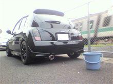 こんな良い天気は洗車に限る♪