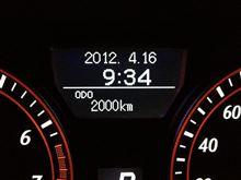 結局ひと月で2000km(=x=;;