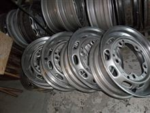 356 Carrera GT alloy steel wheel