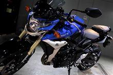 近未来的デザインと高い走行性能・GSR750のバイクガラスコーティング【ラディアス湘南】