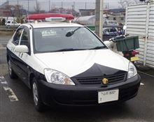 山形県警 DBA-CS2A ミツビシ ランサー 1.5 MX-E 警ら用 パトカー 再捕獲 ・・・・