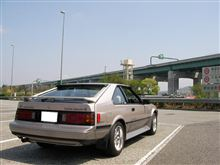 セリカXXで恒例の横須賀周遊と今日の高速事情