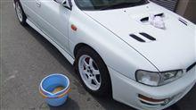 洗車&ポリッシュしました