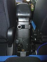 リアシート用携帯ホルダー&充電器設置