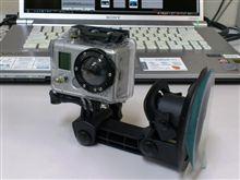 GoPro、デモ撮影です。