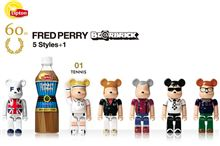 FREDPERRY×BE@RBRICK