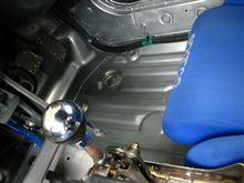 【PP1】【軽量化】運転席足下メルシート剥がし~塗装