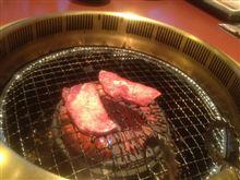 恒例の焼肉〜(=^ェ^=)