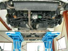 アルシオーネSVXの、ブレーキOH整備