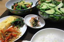 日替わり定食(12/4/12)/じゃがいもとブロッコリの炒め物