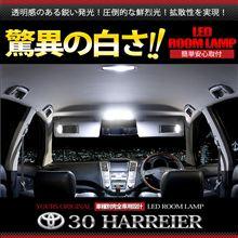 人気の30系ハリアー LEDルームランプセット登場