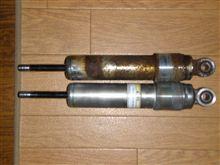 NX125用、SL230とディグリーのショックアブソーバー