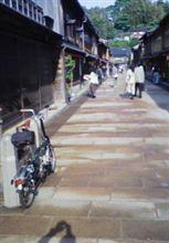 BROMPTONと古都金沢
