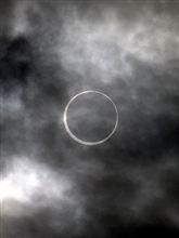 金環日食見れました