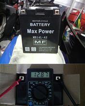 GSX-R1100Mバッテリー交換!