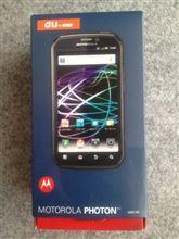 初Androidです(^^;;