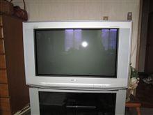 居間のテレビが・・・