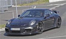991型 Porsche 911 GT3 スパイ画像
