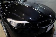 より重厚に、よりスポーティに、BMW・Z4のガラスコーティング【ラディアス湘南】