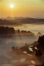 日本の原風景  星峠の棚田