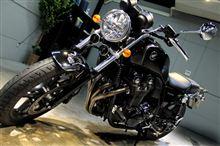 オーソドックスで美しい・ホンダCB1100のバイクコーティング【ラディアス湘南】