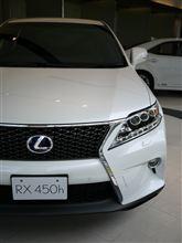 レクサス New RX 見てきました