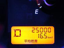 祝! 25,000km