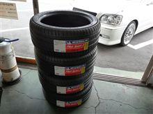 クラウン タイヤ交換 PS3 ミシュラン ピレリ ニットー 国産タイヤも輸入タイヤも安いですよ~~~♪