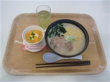 とんこつチャーシュー麺+オレンジゼリー