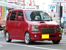 軽CARサス交換工賃が7800円、、、、、、、、、、、、ワゴンR MC22S エスペリア サスで ローダウン