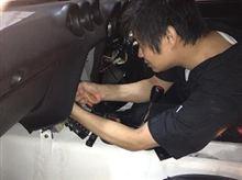 ハーネス(電気配線)の修復作業 その16 配線の確認のために、NS-Craftへ