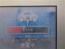 首都高速 平和島PA(上り)の充電器は中速(50A)。充電は遅いし...