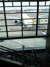 搭乗開始です