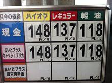 ハイオク満タン146円