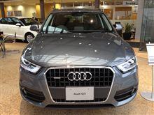 本日の試乗 「Audi Q3」
