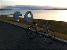 クロスバイクで見る景色