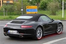 【スパイショット】新型911に往年のタルガトップが復活!?