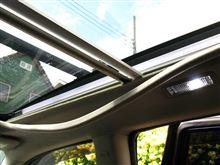 [エクシーガ] ガラスルーフ車の天井にリヤモニタを設置(その1. 現状把握)