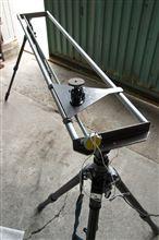 微速度動画用カメラスライダードリー試作