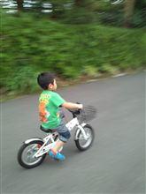 自転車に乗れるようになりました