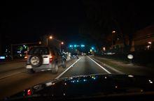 コスタリカ ドライブ旅行記 37 マイアミトランジット 深夜のドライブ
