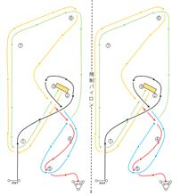 バトルジムカーナ2012 Rd.2 コース図