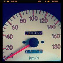 19万キロ超えました。