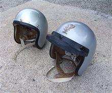 50年前のヘルメット。