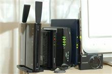 無線LAN親機が壊れたので買い換えてみた。