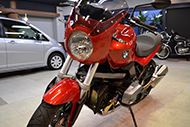 伝統のボクサーエンジン BMW・R1200Rのガラスコーティング【リボルト東京WEST】