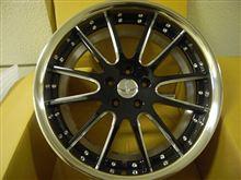 今日のホイール RAYS BLACK FLEET V120(レイズ ブラックフリート V120) -トヨタ エスティマ(50系)用-