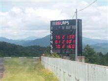 仙台ハイランドの電光掲示板